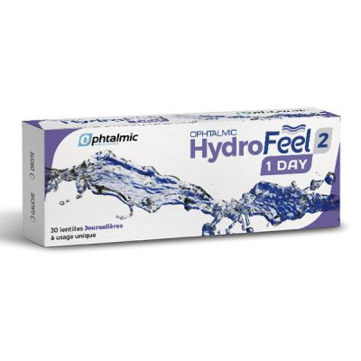 produit lentille Hydrofeel 1 Day 30 2