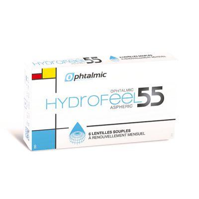 produit lentille Hydrofeel 55 Aspheric