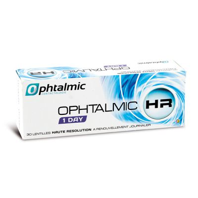produit lentille Ophtalmic HR 1 Day 30