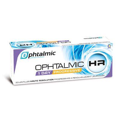 produit lentille Ophtalmic HR 1 Day Progressive 30