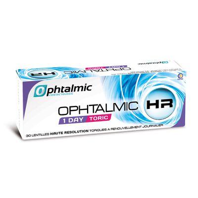 produit lentille Ophtalmic HR 1 Day Toric 30