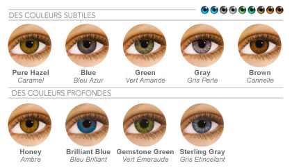Top Lentilles Air Optix Colors PB45