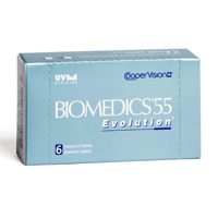 Compra de lentillas BioMedics 55 Evolution