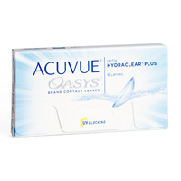 achat lentilles Acuvue Oasys with Hydraclear Plus